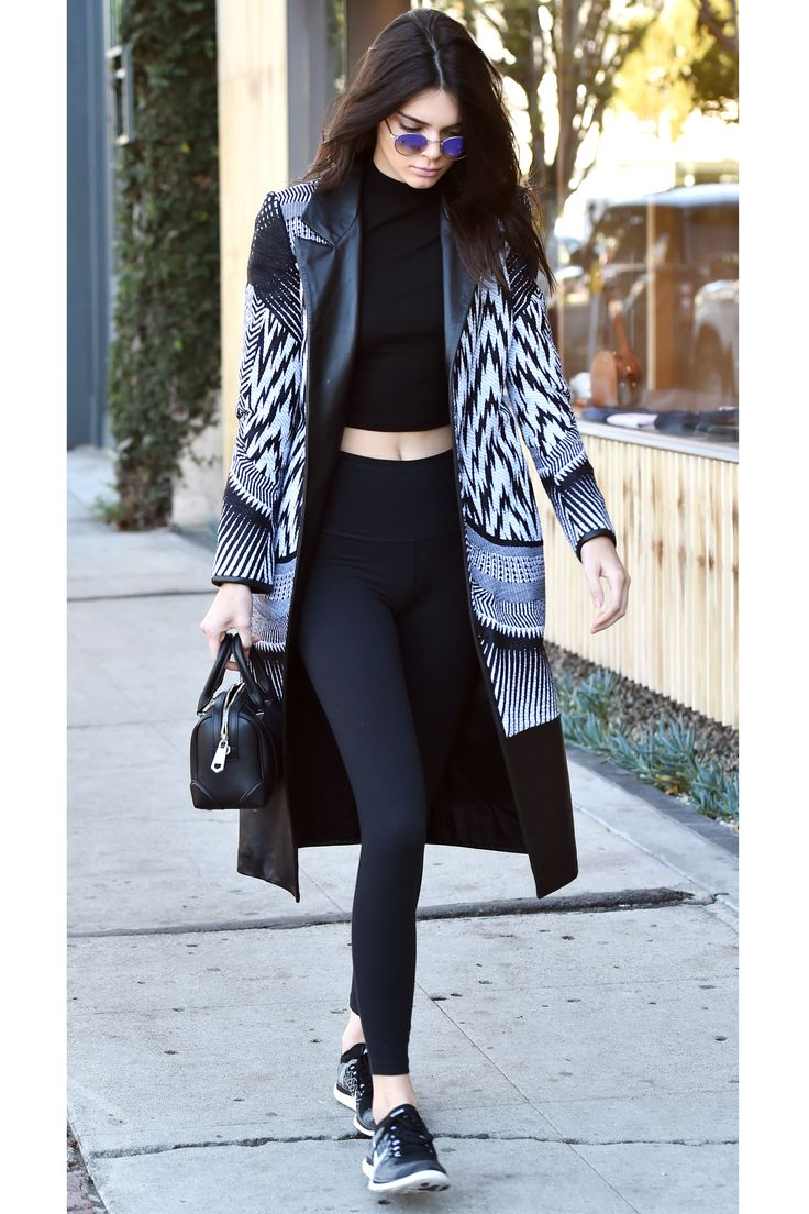 Black and white coat? Idea not sure about the pattern