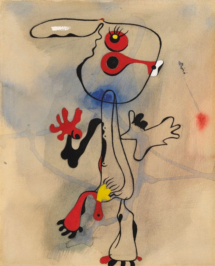 Joan Miró-Personnage ,1935