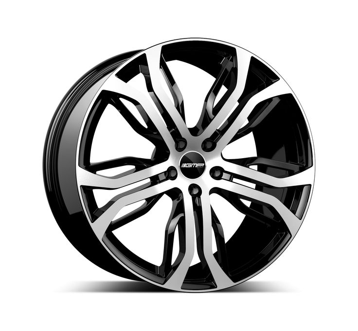 Dynamik Black Diamond Alloy wheel / Cerchio in lega leggera Dynamik Nero Diamantato Side