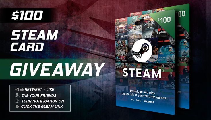 steam gift card free $50