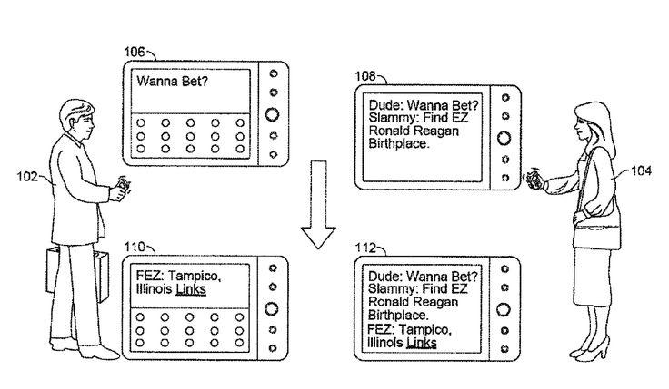 Google obtient un brevet pour un système qui intègre des résultats de recherche dans une messagerie instantanée http://patft1.uspto.gov/netacgi/nph-Parser?Sect1=PTO1&Sect2=HITOFF&d=PALL&p=1&u=%2Fnetahtml%2FPTO%2Fsrchnum.htm&r=1&f=G&l=50&s1=9%2C514%2C227.PN.&OS=PN%2F9%2C514%2C227&RS=PN%2F9%2C514%2C227&utm_campaign=coschedule&utm_source=pinterest&utm_medium=Olivier