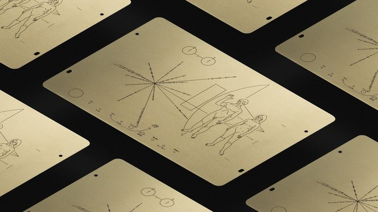 "Learn all about the Pioneer plaques, Carl Sagan's ""galactic greeting cards."""