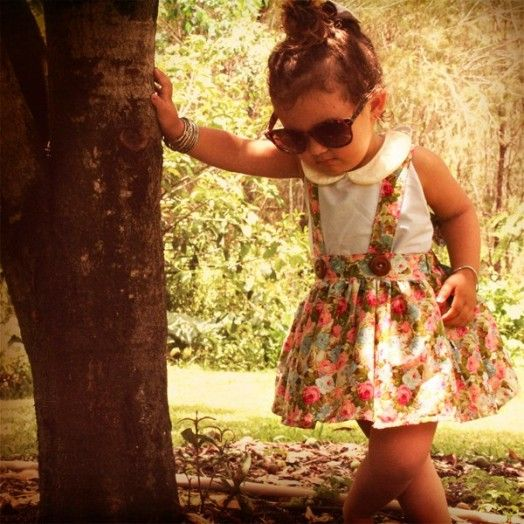 Cute Vintage-Inspired Kids' Clothes Collection By Lacey Lane | Kidsomania
