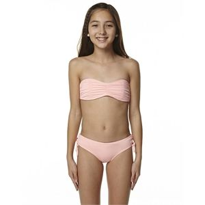 New Billabong Girls Kids Girls Surf Fun Bikini Girl's Toddler Children Pink