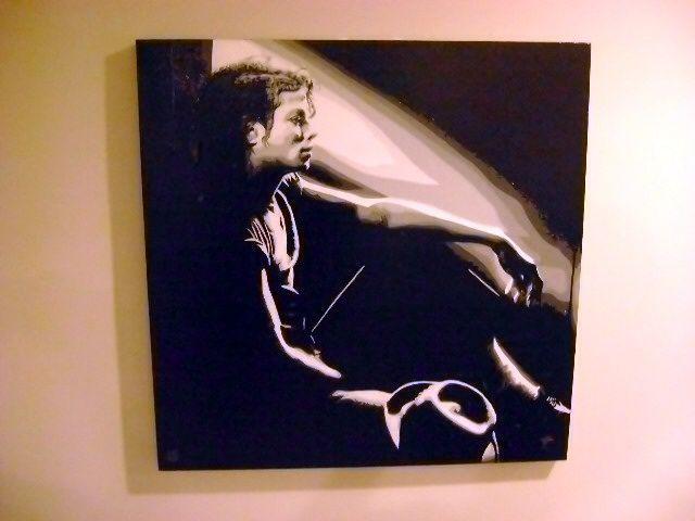 Michael Jackson, 30 x 30 inch