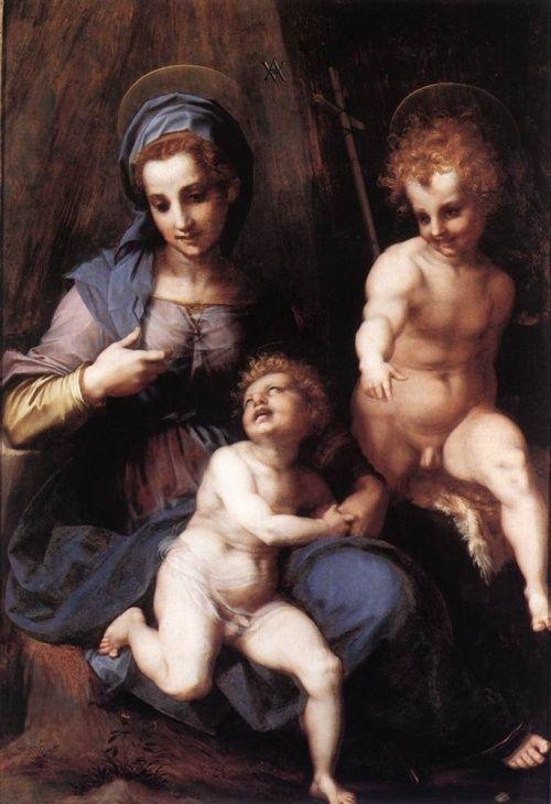 Классическая живопись Andrea del Sarto