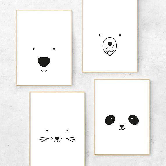 "8er Posterset ""Happy Birthday Animals"""