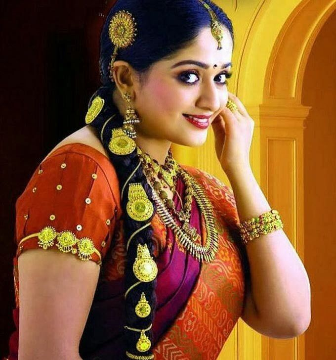Easy Ladies Hairstyles In Kerala: 136 Best Images About Traditional Dresses On Pinterest
