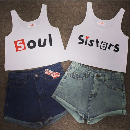 20 Conjuntos de ropa que tú y tu mejor amiga deben tener ¡Pido ser el tocino!