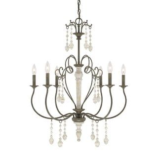 Best 25 french country chandelier ideas on pinterest french shop for austin allen company sofia collection 6 light french country chandelier get aloadofball Image collections