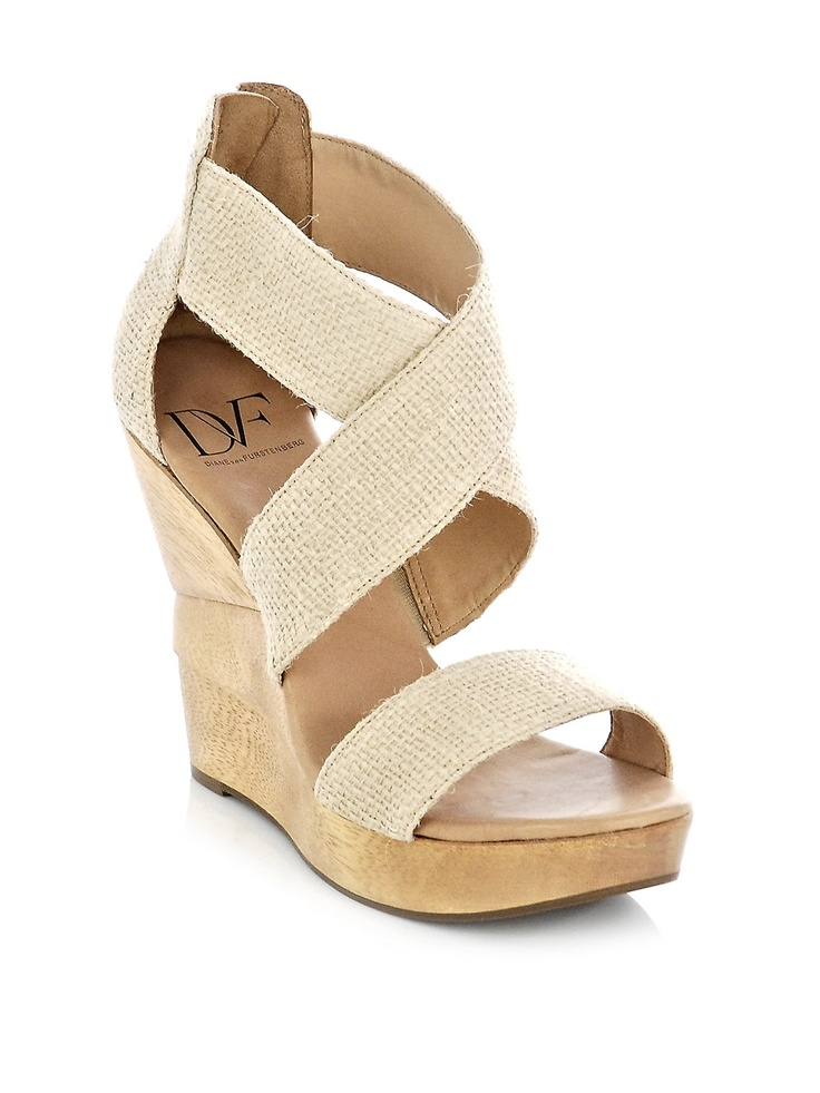 Diane Von Furstenberg Opal wedges, the perfect day time shoe!