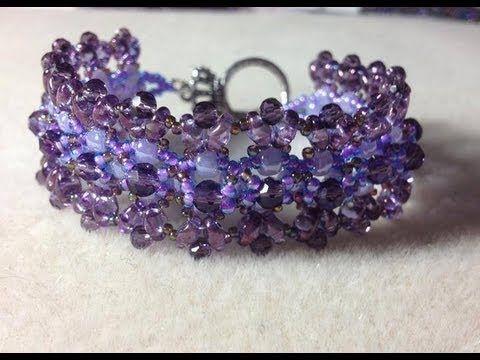 (Tutorial) Beaded Chantilly Lace Bracelet (Video 6) (+playlist)