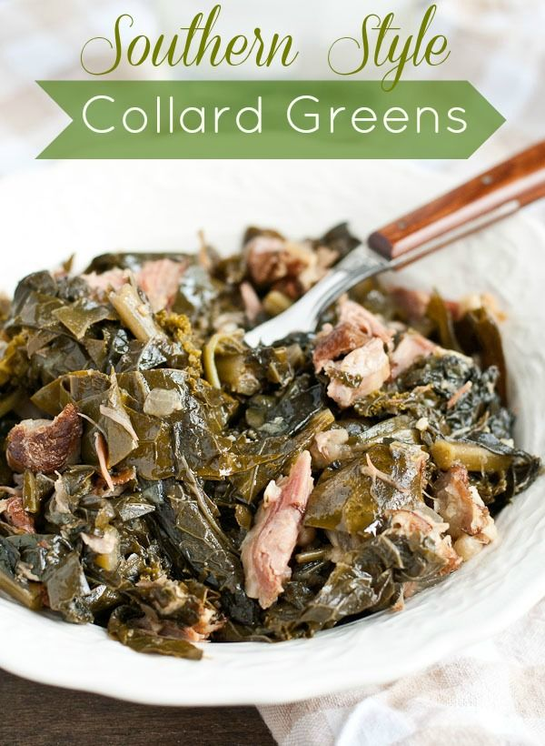 Southern Collard Greens from NeighborFoodBlog.com