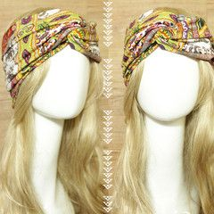 Boho Chic Turban Headband  idr 65,000 or $6.5  FREE ongkir seluruh Indonesia ✈️ shipping worldwide  LINE : reginagarde  shop online www.reginagarde.com