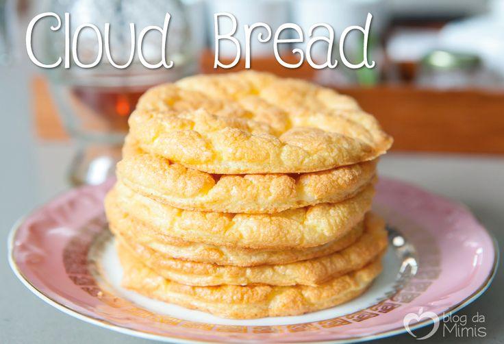 Gente! Descobri esse pãozinho que tá virando sensação no mundo todo. E já tratei de fazer a minha versão da receita. O Cloud bread é o pão nuvem, e ele tem esse nome porque é bem leve mesmo e não t…