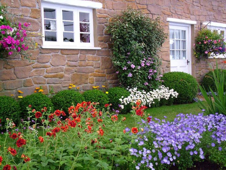 Beautiful Cottage Flower Garden 233 best house garden images on pinterest | gardens, landscaping