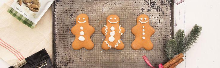Gingerbread koekjes voor een zoete & suikervrije kerst! - Sukrin.nl #glutenvrij #suikervrij #fitgirl #fitspiration #foodie #foodfotography #sugarfree #coaliakie #glutenfree #recipe #recept #sukrin #sukrin gold #foodspiration #fmoothie #kerst #bakken #gingerbread #HHB