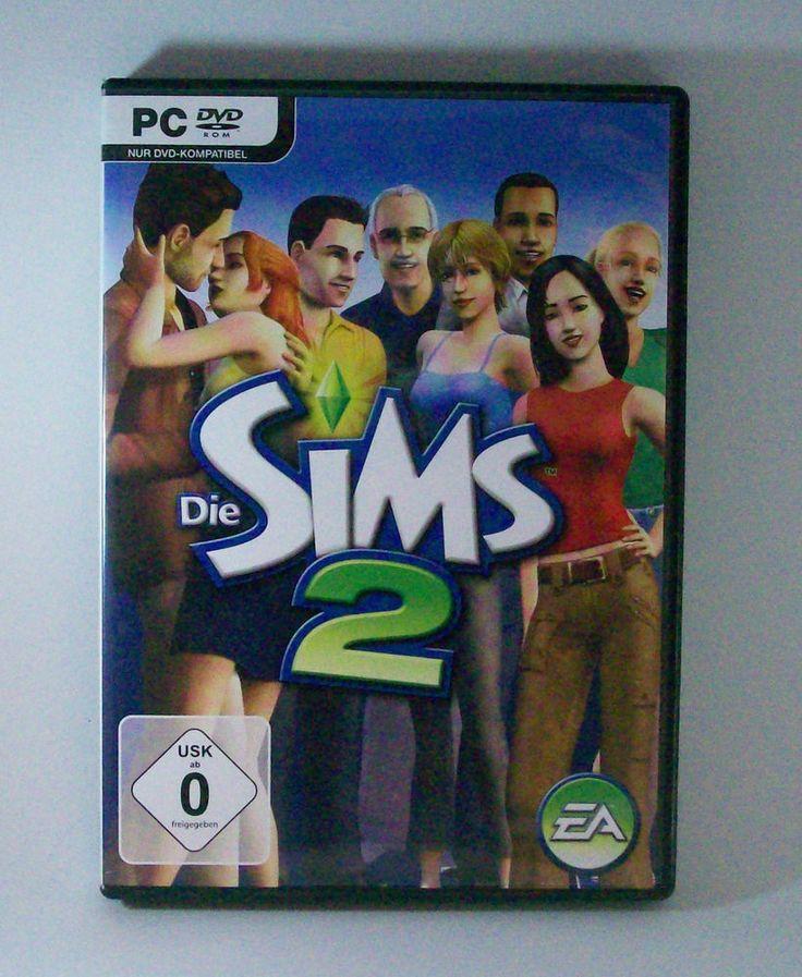 Die #Sims 2 #PC DVD-ROM #Spiel KOMPLETT mit Anleitung #DieSims #eBay