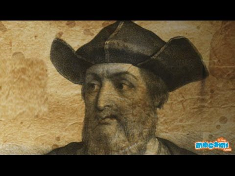 Vasco Da Gama - Portuguese Explorer | Mocomi Kids - YouTube