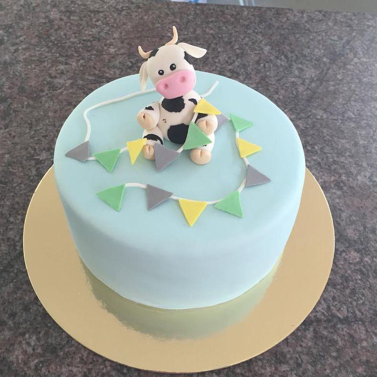 #babyshower #babyshowercake #cakecakecakecake #cow #cowcake