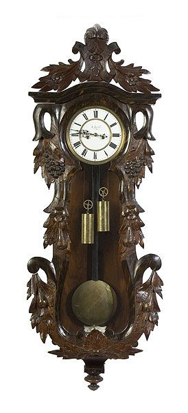 Wall Hanging Grandfather Clock 74 best regulater wall clocks images on pinterest | antique clocks