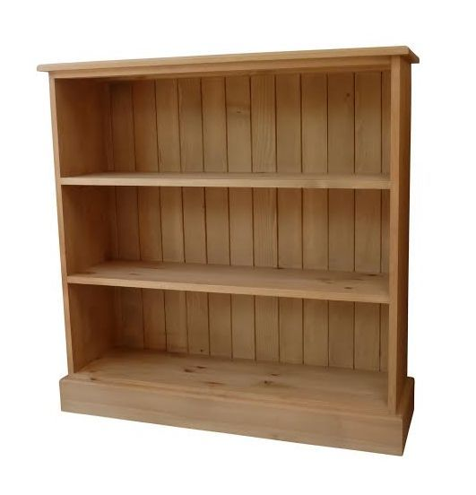 3'x3' solid pine bookcase