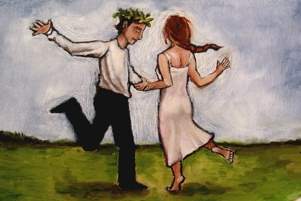 Lovers Dancing by Jennifer Yoswa