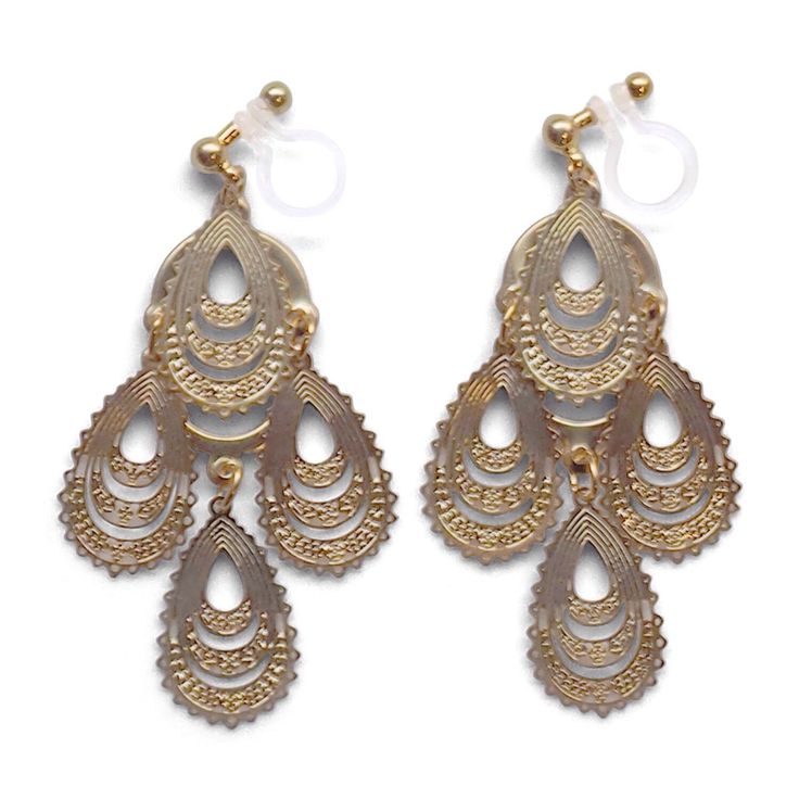 17 Best ideas about Gold Chandelier Earrings – Oversized Chandelier Earrings