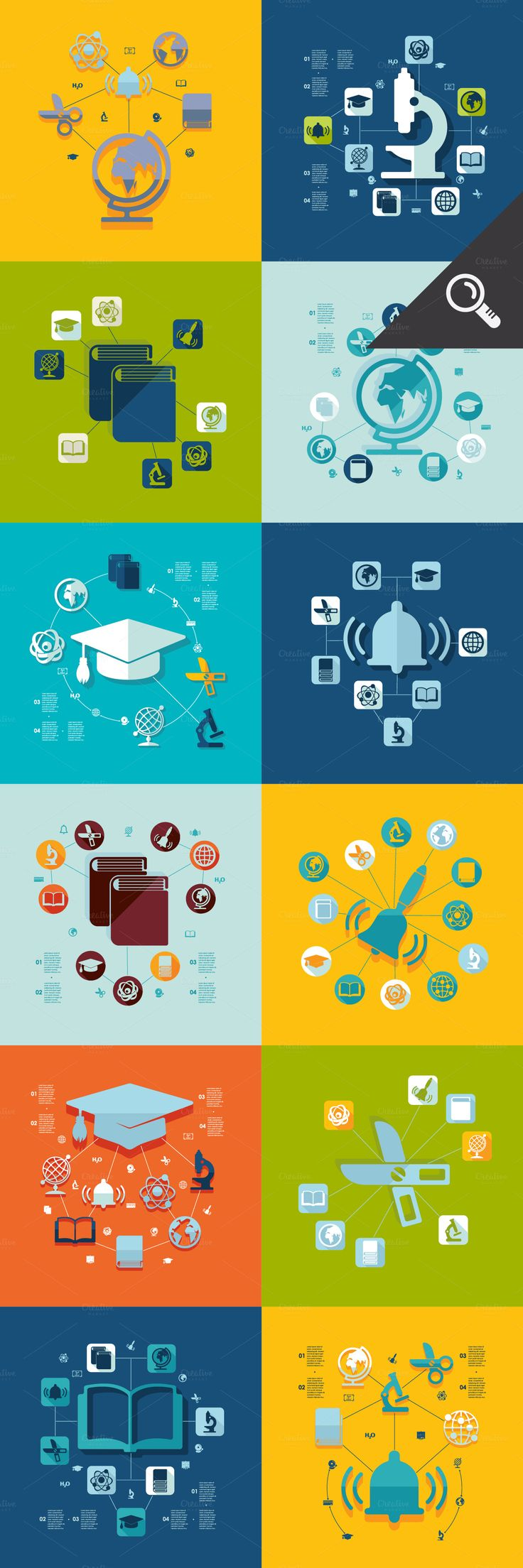 FREE THIS WEEK: 44 education-related graphics
