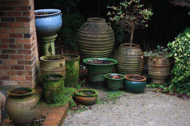 Pots, pots and more pots.  I love pots!