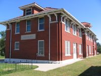 Rock Island Railroad Depot Museum, Fairbury, Nebraska. This was where hubby first hired out and worked.