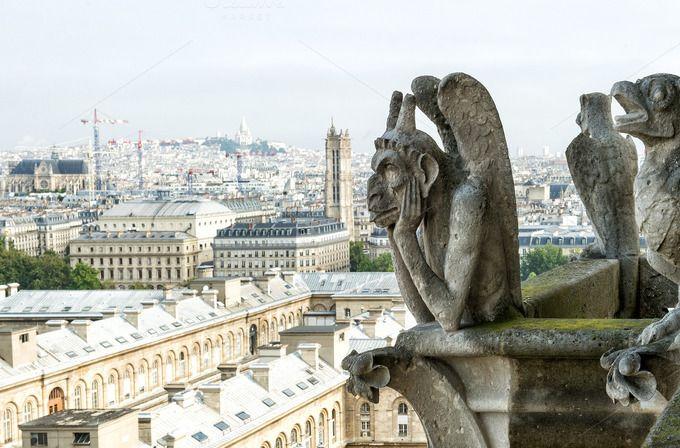 Notre Dame Paris by LiliGraphie on Creative Market