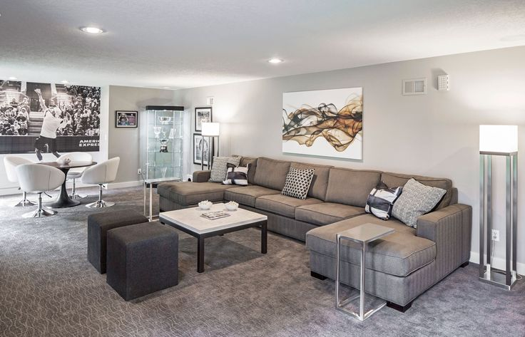 In the Overland Park, Kansas, bachelor pad of tennis pro Jack Sock, the aesthetic is sleek and sophisticated, resulting in a chic space that practically reinvents the genre.