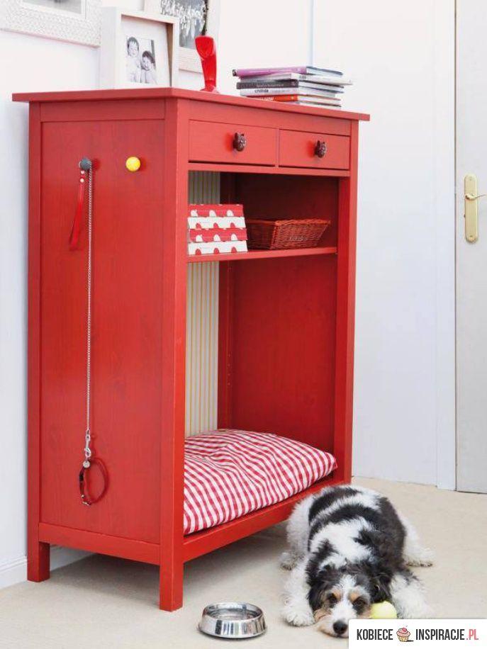 Pomysłowa szafka - legowisko dla psa - Kobieceinspiracje.pl