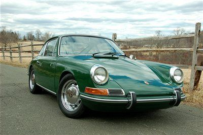 1968 Porsche 912 in Irish Green