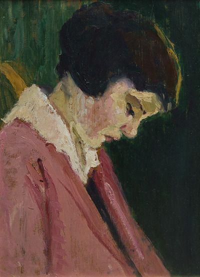 Prudence Heward. Portrait de la soeur de l'artiste 1925. Collection particulière