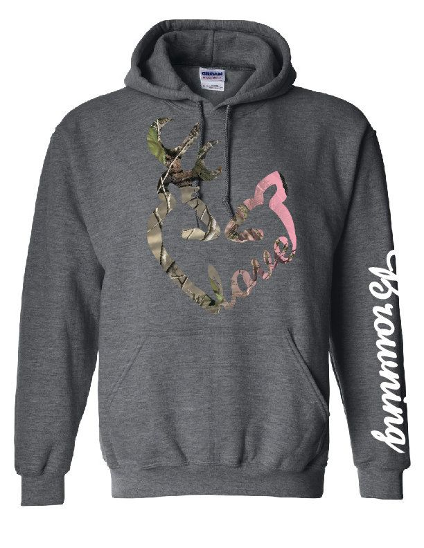 Love Logo Browning Down Sleeve Camo Design by CustomCreationsLH, $50.00