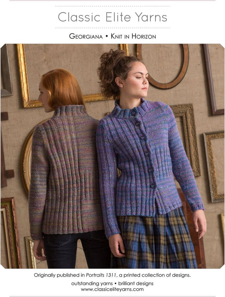 Georgiana Cardigan in Classic Elite Yarns Horizon - Downloadable PDF. Discover more patterns by Classic Elite Yarns at LoveKnitting. The world's largest range of knitting supplies - we stock patterns, yarn, needles and books from all of your favourite bra