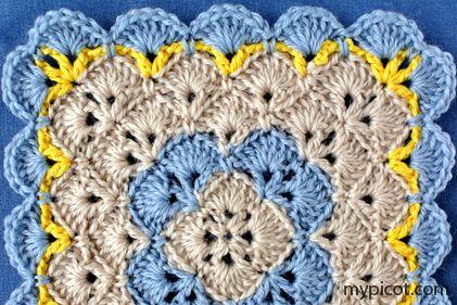 MyPicot | Zdarma háčkování vzory
