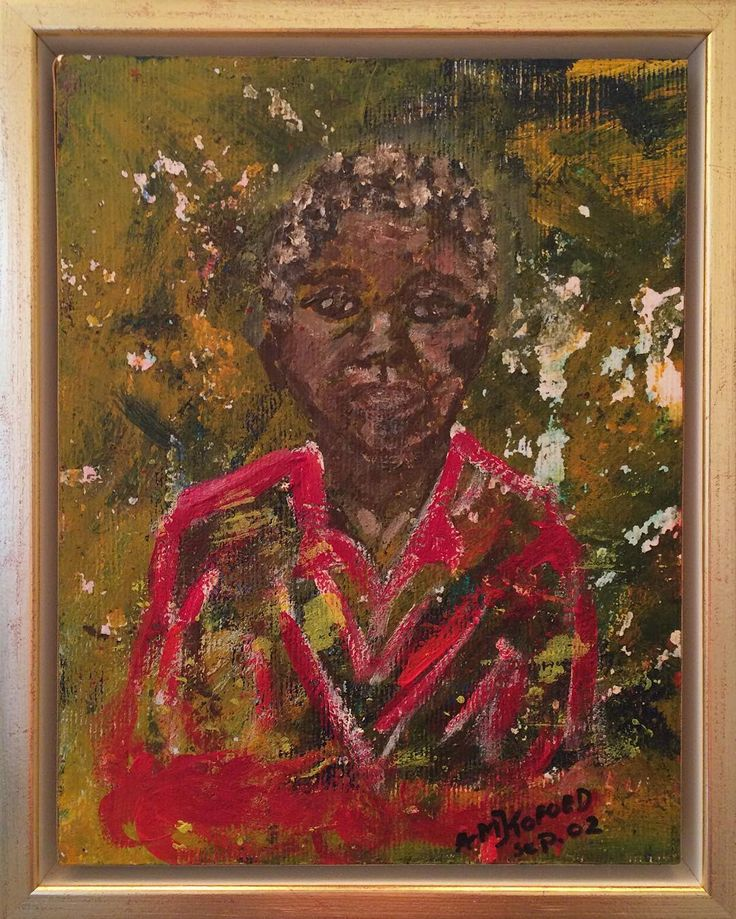 Private painting. It was inspired by a poor girl i saw in the newspaper. I wanted to give her dignity though the surroundings were poor. Copyright by www.anne-mette.com #portrait #portræt #painting #artgallery #goldframe #dignity #maleri #peinture #rød #face #ansigt #dignity #pinterest #pin #www.anne-mette.com #danishartist #danishart #black