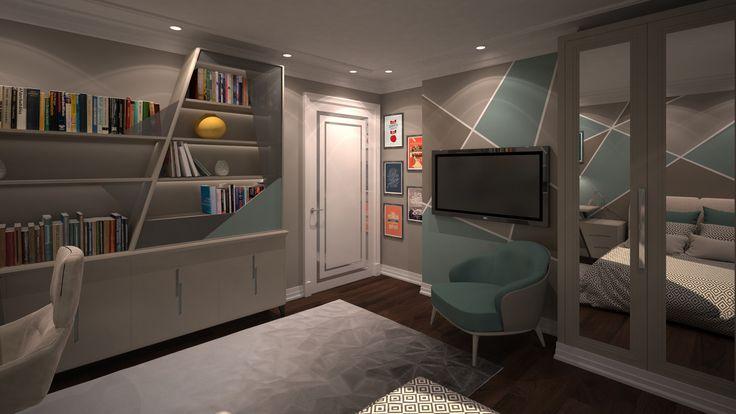 Kid Room 3 By Fadi Wardeh. 3D Max.