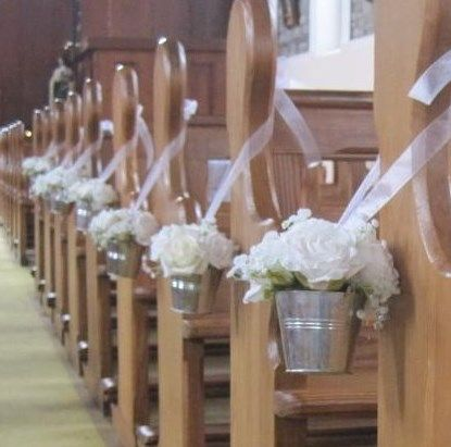 The 100 best wedding hire images on pinterest bouquet wedding image detail for wedding church decoration with purple flowers junglespirit Choice Image