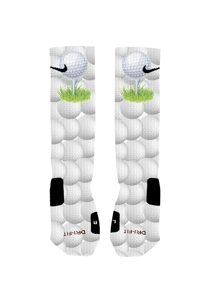 Custom Golf Socks Golf Ball Custom Nike Elite Socks by ShopElevateGear on Etsy https://www.etsy.com/listing/196263297/custom-golf-socks-golf-ball-custom-nike
