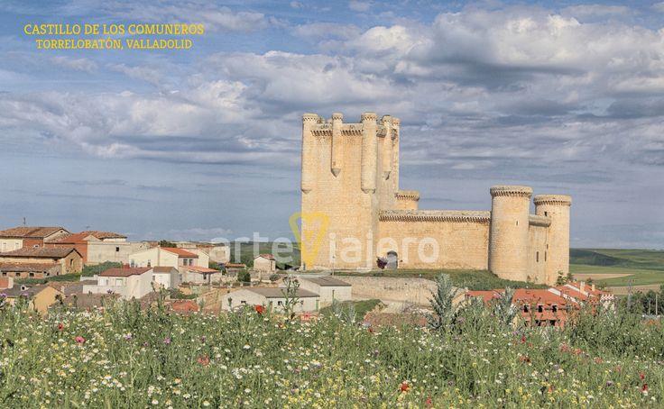 Castillo de los Comuneros, Torrelobatón. Provincia de Valladolid