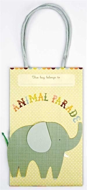 Meri Meri Animal Parade Party Bag