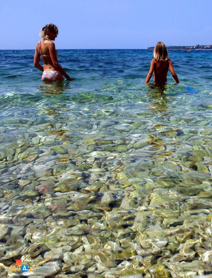 Pinija beach, Zadar, Croatia