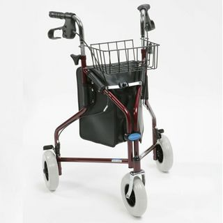 Ultralight Tri-walker with Bag, Basket & Tray - £54.99  The Drive Ultralight Aluminium Triwalker is an ultra lightweight walking aid which has an easy fold system for storage.