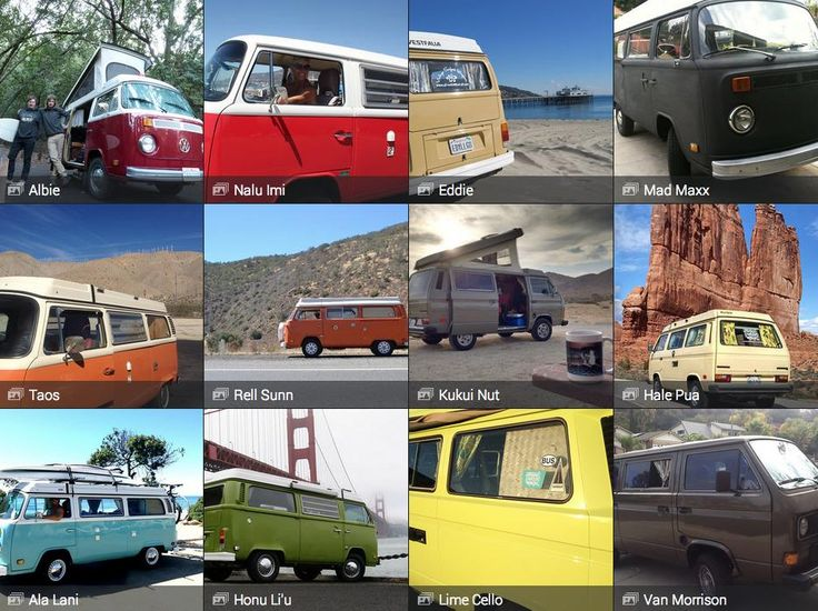 vw bus camper rental with even more character similar pricing