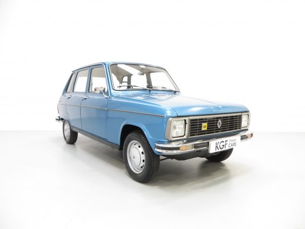 1975 Renault 6TL mine was white I liked the gear change that came out of the dashboard