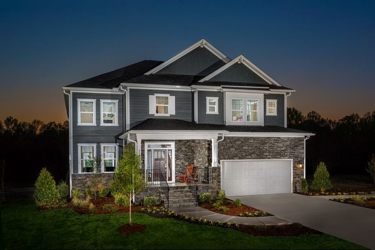 Meet the Rockingham in our new #Cary community, Darlington Woods. Close to trails, parks, and charming downtown Cary, this community is great for families.
